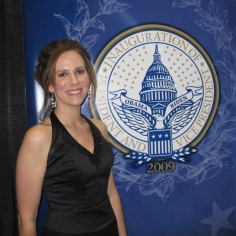 At the Midwest Inaugural Ball, January 2009