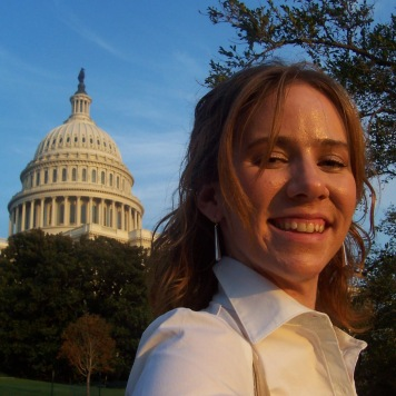 My first professional DC experience: Capitol Hill internship, 2006.