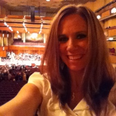 At the President's Box Suite at the Kennedy Center, November 2010