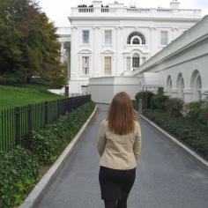 At the White House, October 2009