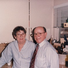 My grandparents, Donald and Gwendolyn, 1989