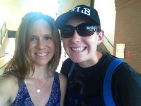 Sister Megan and me