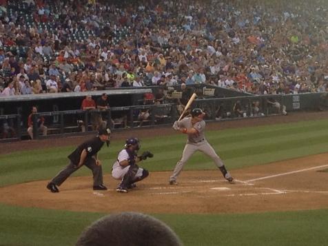 Ian Desmond at bat