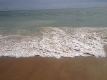The sea.