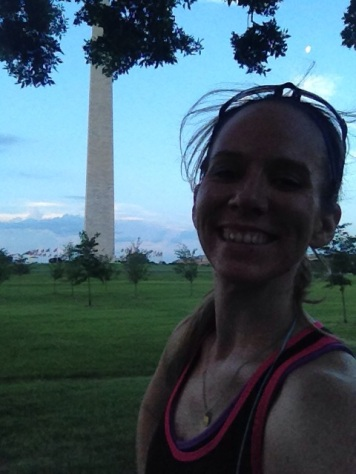 Running on the National Mall is my happy place run.
