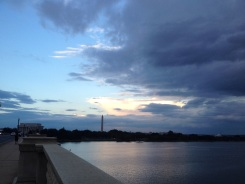 View of Washington, DC from the Arlington Memorial Bridge