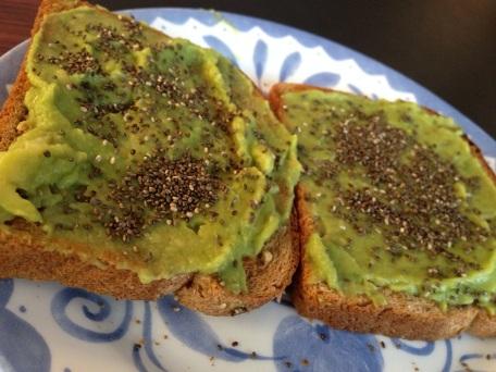 Monday: Avocado toast