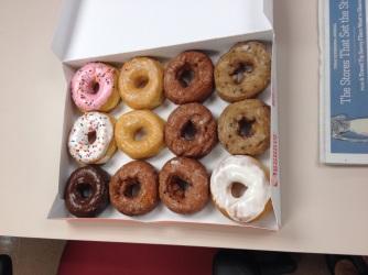 Thursday: Dunkin Donuts