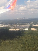 Flying through Atlanta