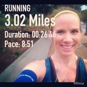First run post-Chicago Marathon. Damn, it felt good to get back out there!