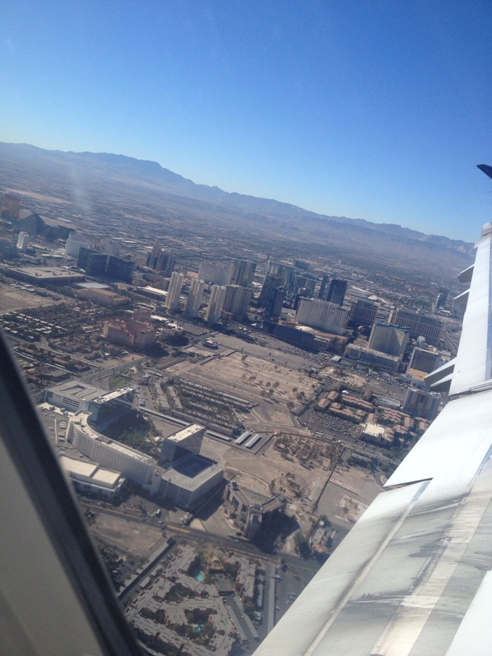 The Las Vegas Strip from the air