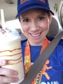Celebratory Creme Brulee milkshake from Arby's!