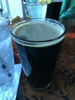 Chocolate peanut butter stout beer