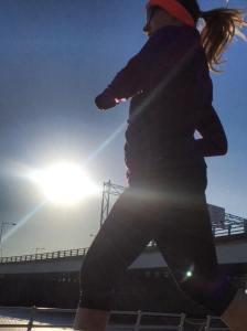 Last long run of half-marathon training!