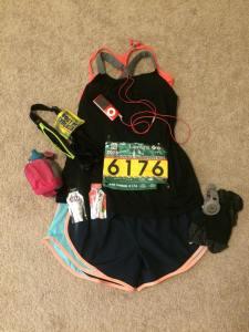 Flat half-marathon Sara