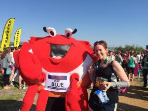 Photo with Blue the Crab!