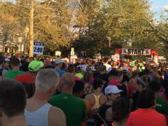 View from the starting line