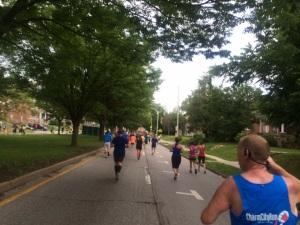 Running Baltimore's streets