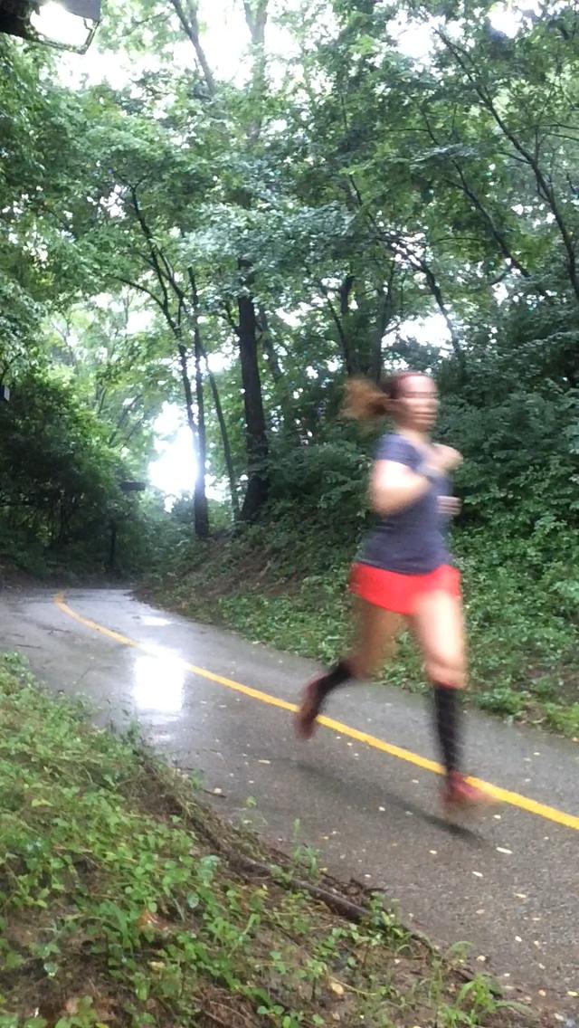 Rain forest running