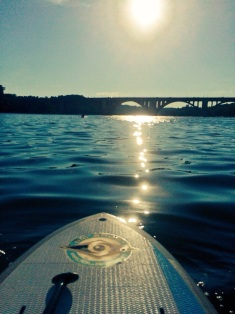Sunday evening paddle