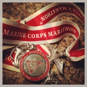 I'm going to earn this medal all over again.