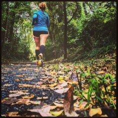 Fall running.