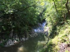 Lace Falls near the Natural Bridge