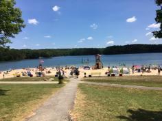Smith Mountain Lake State Park beach