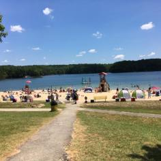 Smith Mountain Lake State Park beach
