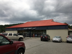 Packet pick-up is held at Fleet Feet Roanoke.