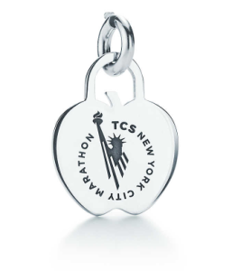 Tiffany & Co. TCS NYC Marathon Apple Charm Photo Courtesy: Tiffany & Co.