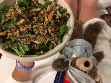 Post-race quinoa bowl