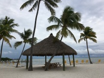 La Siesta Resort's private beach